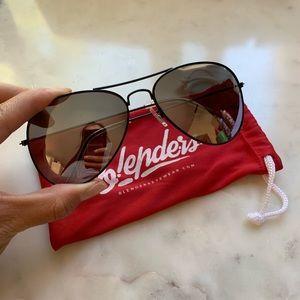 Blenders Reflective Aviator Sunglasses